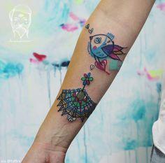 Dvouhlavá inspirace: říjnový výběr těch nejlepších tetování