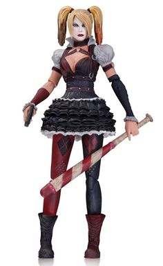 Batman Arkham Knight: Harley Quinn Action Figure - The Movie Store