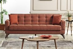 Canapea Extensibila 3 locuri Los Angeles Brick K1 #homedecor #inspriation #interiordesign #livingroomdecor Love Seat, Brick, New Homes, Couch, Modern, Furniture, Design, Home Decor, Cabin