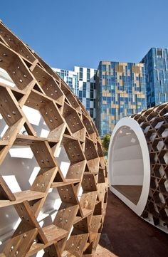 KREOD, a portable wooden structure by Pavilion Architecture :: Surface Design Award for Temporary Structure