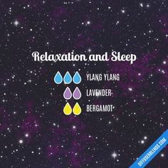 Relaxation and Sleep - Essential Oil Diffuser Blend #aromatherapysleepdiffuser #essentialoil #EssentialOils