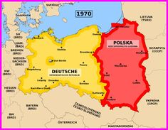 smaller Poland after Germany Poland, East Germany, Danzig, Dresden, German Reunification, Political Environment, Socialist State, History For Kids, Country Maps