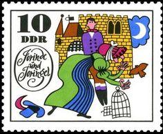 DDR stamp, 1969