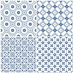 Laccio Blue from the Decorative and Glazed Collection. Pretty and delicate, these embossed prints are available in six striking colour options. www.mandarinstone.com #decorative #glazed #blue #patterned