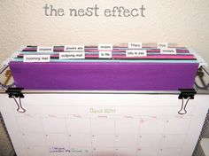 I can't wait to try this to organize mail and other paper clutter. Just in time for back to school! The Nest Effect: Project Mail Station Bill Organization, Organizing Paperwork, Organizing Tips, Cleaning Tips, School Organisation, Organising, Mail Station, Grocery Ads, Home Office