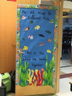 Classroom Door Ocean Teacher Appreciation 28 Ideas For 2019