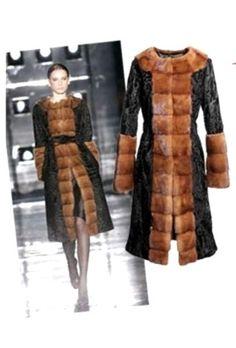 NEW $ 25K MILANO Real Fur MINK SWAKARA LAMB Persian BROADTAIL Coat no sable in Kleidung &…