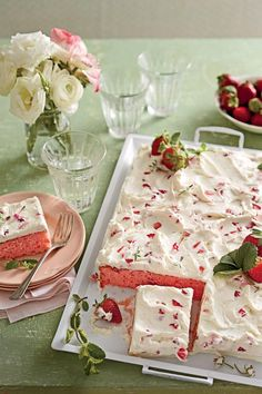 Party-Perfect Sheet Cake Recipes | Use these tasty sheet cake recipes to make festive snack cakes for your next party. They require a little prep and decorating but are oh-so-good! Sheet cakes are a delicious, simple approach for everyday desserts. These sheet cake recipes are perfect for parties, entertaining, or just enjoying any time. There are classic sheet cake recipes, including two recipes for the Texas dessert favorite: the Texas Sheet Cake with Fudge Icing, and the Blond Texas Sheet