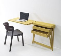 Hinged Drawers Desk by Raw Edges for Arco