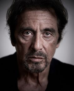 Al Pacino - Celebrity Portraits by Andy Gotts. S)