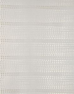 Bulla Spotted Wallpaper An light grey wallpaper with silver polka dots in ombre stripes.