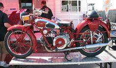 Hot vintage Moto Guzzi!