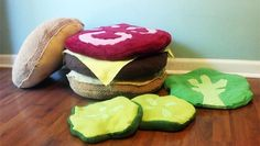 Cheeseburger Pillow  $100.00