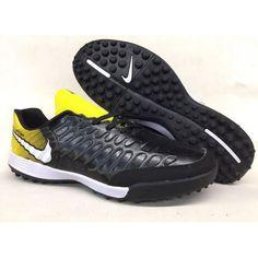 quality design 06ee9 8b614 Botas De Futbol Sala Nike Tiempo Legend VII TF Mens Negro Oro Blanco