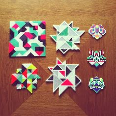 Camilla Lathes - Graphic Design Technologies: Hama Beads