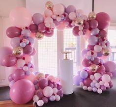 Online Shop Pink Macaron Balloons For Baby Shower Decoration Birthday Party Deco Christening Favors Pastel Balloons Wedding Balls Balloons Galore, Pink Balloons, Wedding Balloons, Baby Shower Balloons, Grad Party Decorations, Balloon Decorations, Baby Shower Decorations, Balloon Decoration For Birthday, Balloon Garland