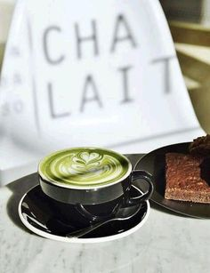 Chalait NYC is known for their Instagram-worthy matcha lattes