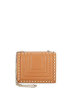 Luana Italy Clio Leather Crossbody Bag