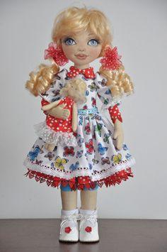 PDF Mary Doll Cloth Doll PatternPDF Sewing by NilaDolss on Etsy