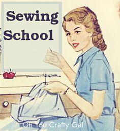 Free Online Sewing School.
