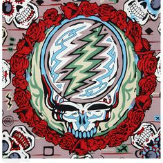 Grateful Dead 50th Anniversary 3D Tapestry on Sale for $31.99 at The Hippie Shop