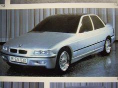 OG   1990 BMW 3 Series - E36   Clay model
