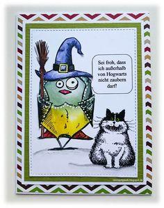 ' Stempelgaudi ': Bird Crazy - #15 - ... Hokus-Pokus-fidibus ...