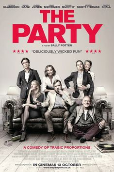 This looks so funny and clever! Definitely on my watch list.  #theparty