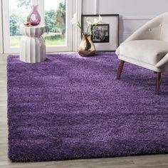 Safavieh Milan Collection Purple Area Rug X
