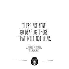 Leonardo Dicaprio, The Revenant #quote