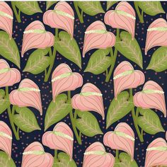 sarahbertochi - A new pattern - the flower is an anthurium which comes in a variety of colors. This is from Day 22 of @houselarsbuilt 31 Days of Flowers (link in profile) #sarahb #coloring #pvpics #surfacedesign #fabricdesign #textiledesign #foundforaged #finditstyleit #gatheredstyle #thehappynow #thatsdarling #livethelittlethings #abmlifeisbeautiful #dspattern #dsinspire #flashesofdelight #patternobserver #surfacepatterndesign #patternbank #pursuepretty #abmlifeissweet #abmlife...