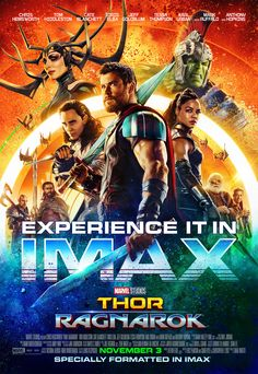 Thor: Ragnarok IMAX Poster