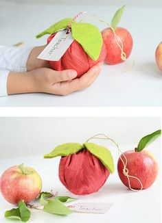 Teacher Presents | Make an Apple Sachet for your teacher | willowday