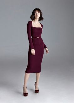 Autumn-Winter 2019 Archives | Page 4 of 67 | POEM Dressy Dresses, Prom Dresses, Stylish Outfits, Fashion Outfits, Frock Dress, Dress And Heels, Classy Dress, Business Fashion, Korean Fashion