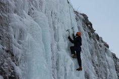 Escursione scalata di ghiaccio - Ice climbing tour (Mary Attardi, Abisko)