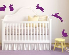 Wall art ideas- Just pink- Wall decal