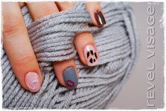 #revelvisage #nails #wild #kiss #love