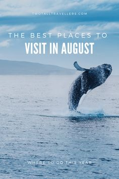 August also usually offers the best weather for plenty of destinations, so you won't have to worry about your trip being ruined! Click on the holiday location that interests you the most, or if you'd prefer to discover somewhere new, scroll through the whole post and let us know what you think!  You're pretty much guaranteed to find your perfect August holiday destination for 2020 here, so get booking! Us Travel Destinations, Holiday Destinations, Places To Travel, Travel Guides, Travel Tips, Travel Plan, Travel Articles, August Holidays, Worldwide Travel