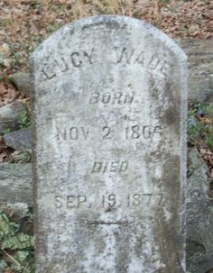 Lucy Lawrence Wade 1806-1877