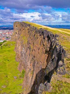 Arthur's Seat in Edinburgh Scotland