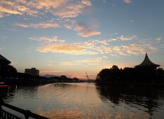 Kuching Waterfront has some of the most picturesque sunsets you will ever see, anywhere. If you are a digital nomad, see my city rating of Kuching at the link below. Kuching, Digital Nomad, Borneo, Sunsets, City, Outdoor, Outdoors, Cities, Outdoor Games