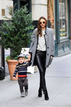 It's official leather season, a quick history of women who wear leather leggings the best