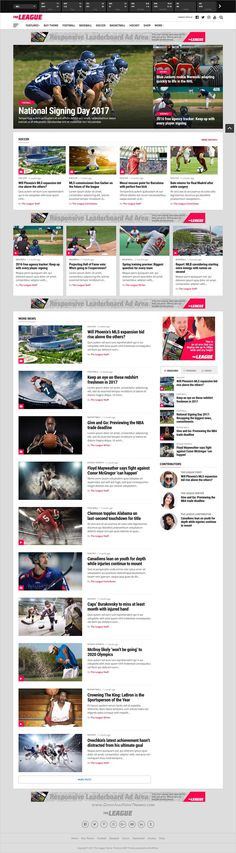 The league is a wonderful responsive #WordPress theme for #sports #news and #magazine websites with multiple homepage layouts download now➩ https://themeforest.net/item/the-league-sports-news-magazine-wordpress-theme/19488138?ref=Datasata