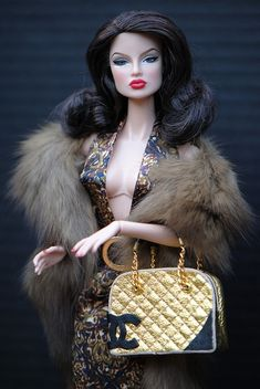Which #FashionDoll did you get for Christmas? #Chanel #Musestyle