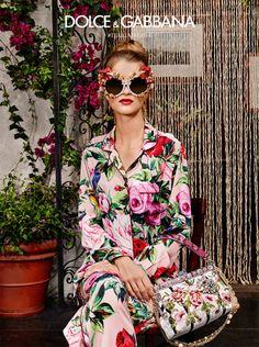 Dolce & Gabbana Spring/Summer 2016 Eyewear Campaign - Women's Sunglasses (05)