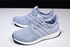 21b204da16421 2018 Men s and Women s Adidas Ultra Boost Clima Grey Two Real Teal BY8889