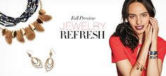 Fall Preview Jewelry Refresh ...See it now at https://www.youravon.com/crookardpolite #avonrep #avon jewelry #avon products