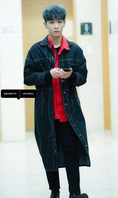 161124 #Key #SHINee #bluehair