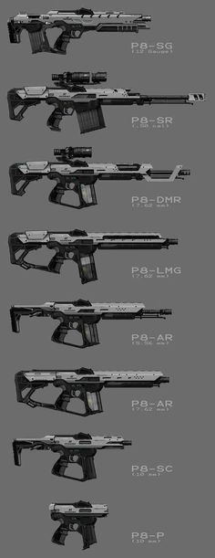 Sci Fi Weapons, Weapon Concept Art, Armor Concept, Weapons Guns, Fantasy Weapons, Arte Sci Fi, Sci Fi Art, Rpg Cyberpunk, Armas Ninja