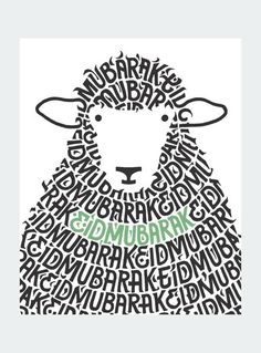 Sheep Mubarak Card: Keep loved ones close by sending an Eid Mubarak card this…